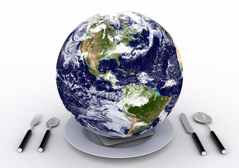World-on-a-Plate