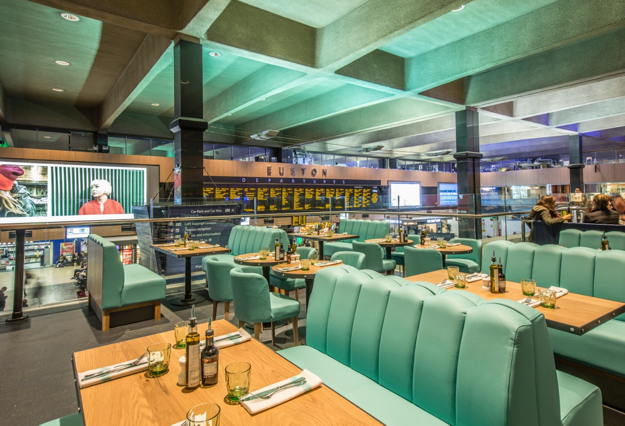 SSP opens Gino D'Acampo restaurant at London's Euston station - SSP